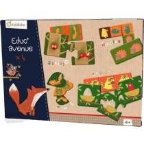BOX GIOCHI EDUCATIVI - LA FORESTA