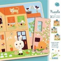 PUZZLE 3 STRATI - CHEZ CAROT