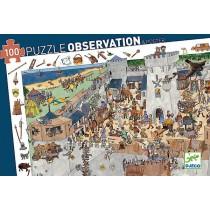 PUZZLE DI OSSERVAZIONE - CASTELLO FORTIFICATO