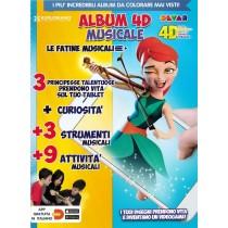 EXPLORIAMO - ALBUM 4D DA COLORARE - MUSICALE