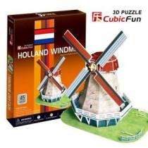 PUZZLE 3D - MULINO OLANDESE