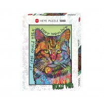 PUZZLE HEYE - JOLLY PETS - IF CATS COULD TALK