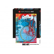 PUZZLE HEYE - BIKE ART - RED LIMITED BICICLETTA