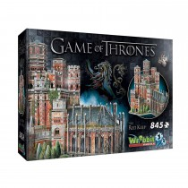 PUZZLE 3D - WREBBIT - GAME OF THRONES - FORTEZZA ROSSA
