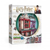 PUZZLE 3D - WREBBIT - HARRY POTTER - QUIDDITCH SUPPLIES E SLUG & JIGGERS