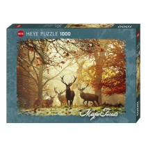 PUZZLE HEYE - MAGIC FORESTS - CERVI