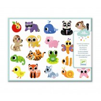 STICKERS PER I PICCOLI - ANIMALI