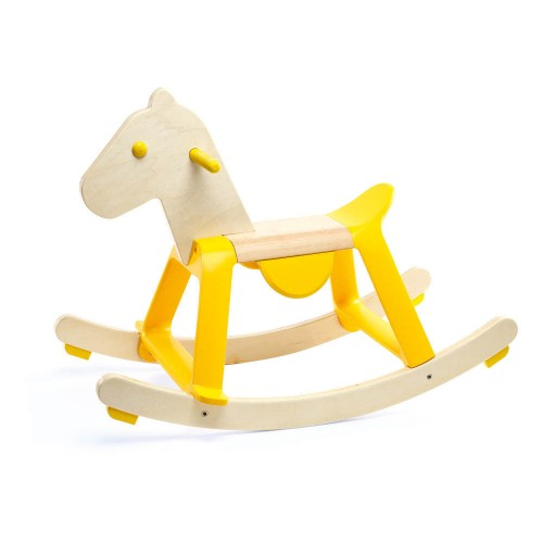 Cavallo A Dondolo Metallo.Cavallo A Dondolo Yellow Rock It Stupeficium Com